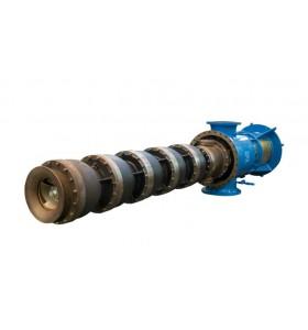 CELEROS CUP-VS1- Pompe mono-boîtier à plusieurs étages, API, diffuseur / turbine vertical (VS1)