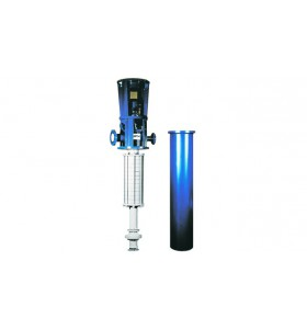 CELEROS CUP-VS6 - Multi-étage, API, diffuseur vertical, pompe à double boîtier à turbine (VS6)